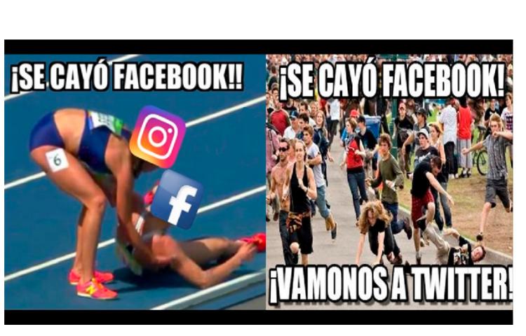 Instagram y Facebook sufren una caída a nivel mundial