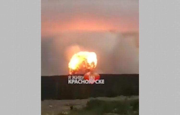 Estalla bunker ruso con artillería y explosivos