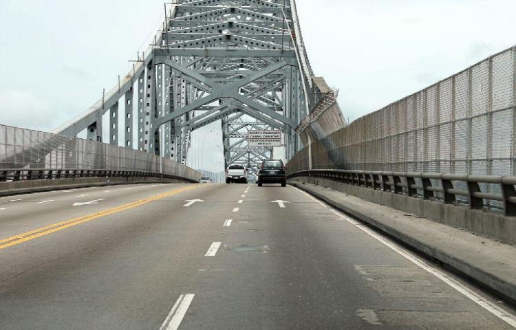 Hay molestia en la calle del Puente de las Américas