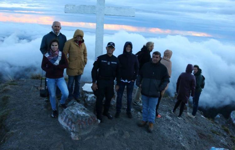 La ATP buscará la reactivación del volcán Barú