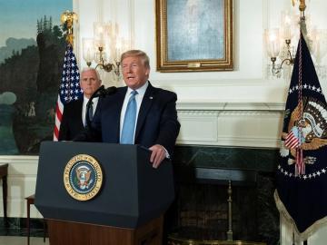 Trump impone un bloqueo total a las propiedades de Venezuela en EE.UU.