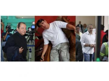 Cosca comparece en juicio oral por homicidio de Eduardo Calderón. ¿Hablará Hidadi?