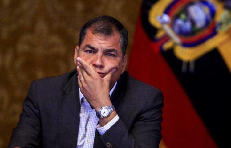 La Justicia de Ecuador ordena prisión preventiva para Correa