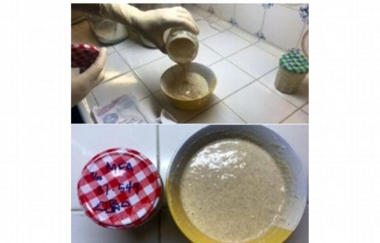 Hornea pan de levadura de 450 años de antigüedad