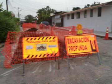 Caos en Don Bosco por la reparación de calles
