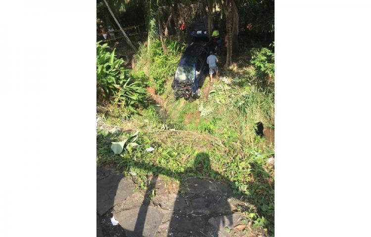 Varios lesionados deja accidente en Vista Alegre