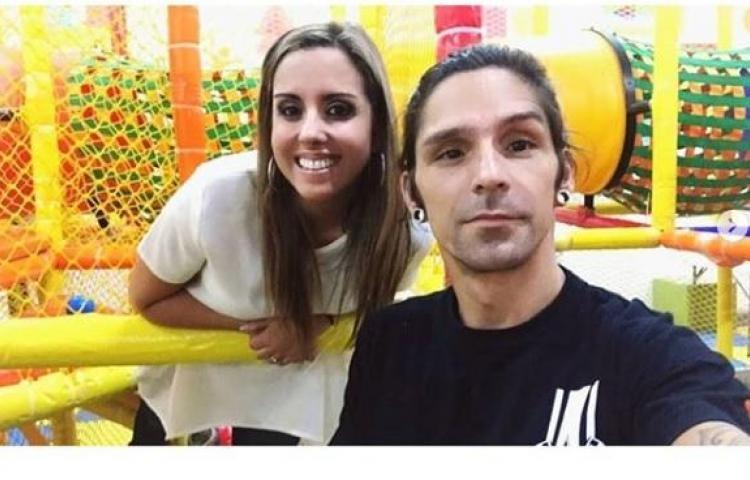 Michelle Simons celebra el cumpleaños del ex Salserín René Velazco