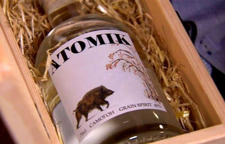 Hacen vodka con agua y trigo de la zona radioactiva de Chernóbil
