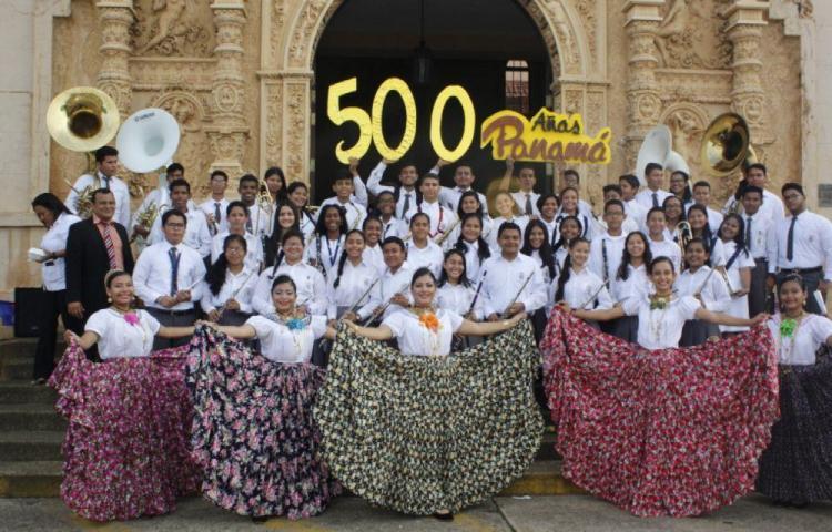 En La Normal festejan por los 500 años de la ciudad de Panamá