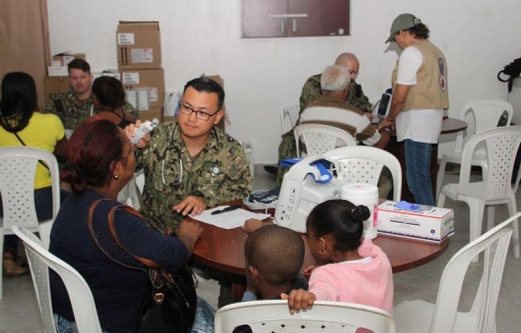 Más de seis mil atendidos en Colón por buque hospital USNS Comfort