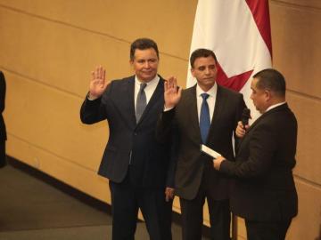 Gerardo Solís, nuevo contralor de la República