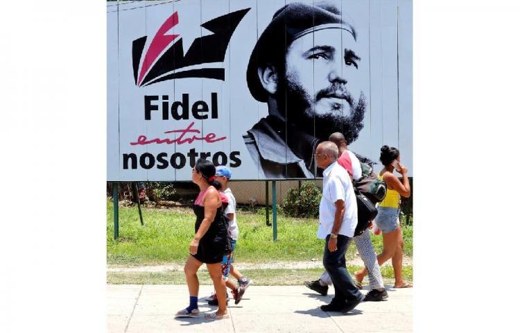 Celebran en Cuba el 93 cumpleaños de Fidel Castro