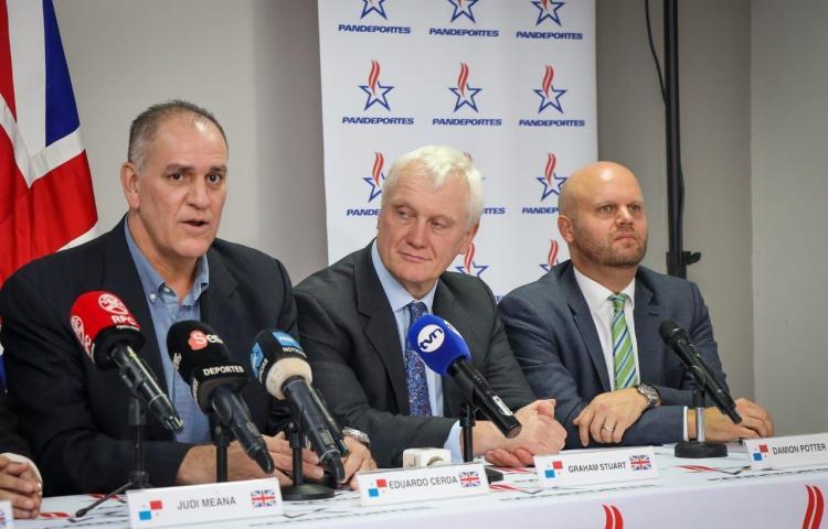 Gobierno Británico garantiza interés en financiar los JCC Panamá 2022