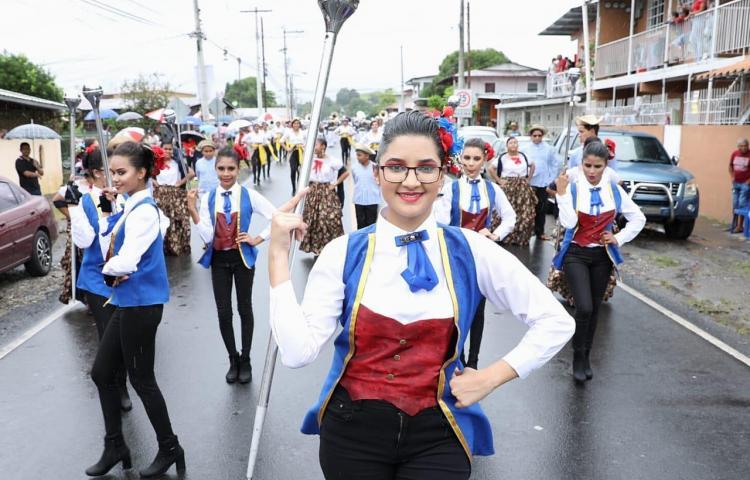 Desfile en Panamá Viejo por los 500 años de fundación de la ciudad