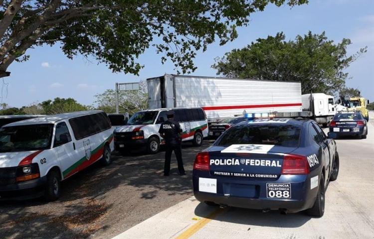 Interceptan a 65 migrantes asiáticos en estado mexicano de Veracruz