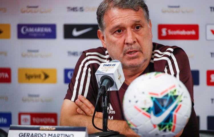 """""""Tata"""" Martino afirmó que México es una selección de segundo nivel"""