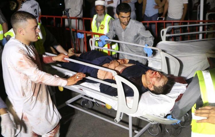 Bombazo deja decenas de muertos en Afganistán