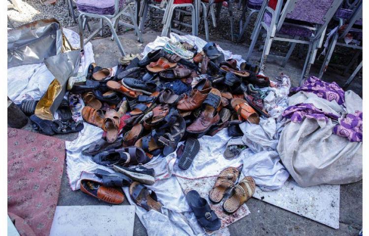 El 'EI' tiñe de rojo una boda con un ataque que deja 63 muertos