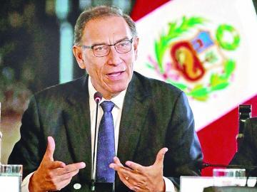Partido peruano insistirá en la destitución de Vizcarra
