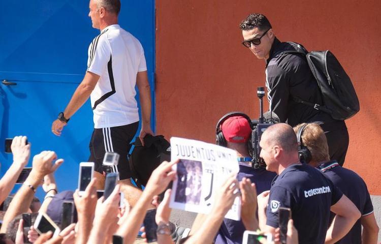 Cristiano vuelve a trabajar con el Juventus