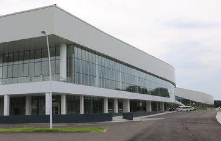 Un 95% de avance registra el Centro de Convenciones de Amador