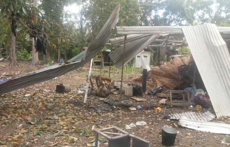 Explosión en Chiriquí deja dos heridos