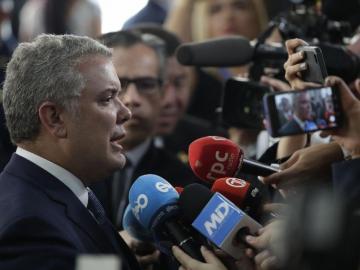 Iván Duque: 'El narcotráfico quiere poner alcaldes y gobernadores'