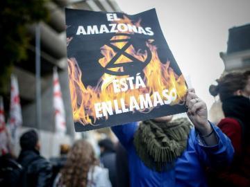 Brasil afirma que los incendios en la Amazonía 'no están fuera de control'