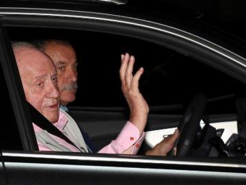 Le implantan tres 'bypass' al rey Juan Carlos de España