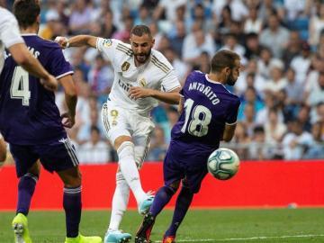 Real Madrid no pasa del empate en su territorio