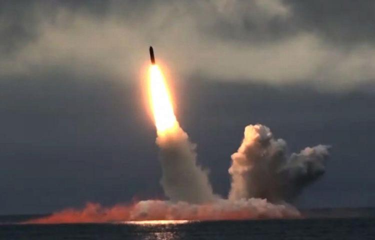 Explosión de un misil produjo 'gases inertes radiactivos'