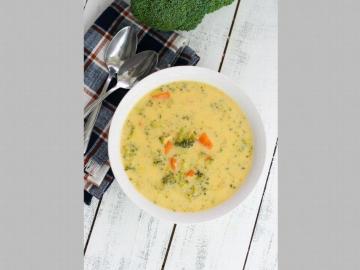 Crema de coliflor y zanahoria