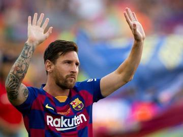 Messi, elegido mejor delantero de la temporada 2018/19