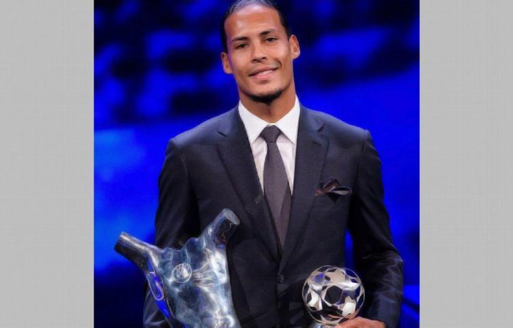 Van Dijk, jugador del año para la UEFA