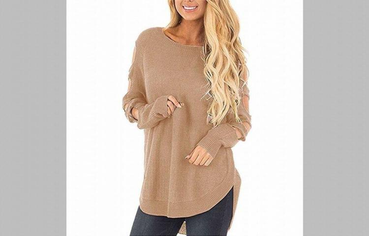 Suéteres largos y holgados