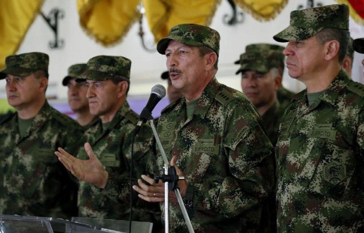 12 disidentes de las FARC muertos. Atrapan a 'William' y 'El Tuerto'