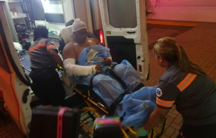 Tres se quemaron al incendiarse galera en Chilibre
