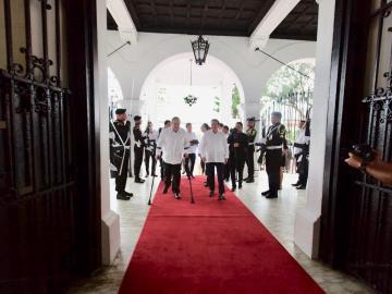 Presidente Cortizo y presidente electo de Guatemala hablaron de la pobreza