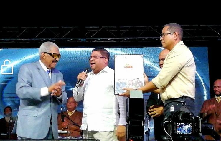 Ministerio de Cultura de Panamá reconoce trayectoria musical de El Gran Combo