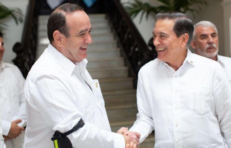 Laurentino Cortizo se reúne con el presidente electo de Guatemala, Alejandro Giammattei