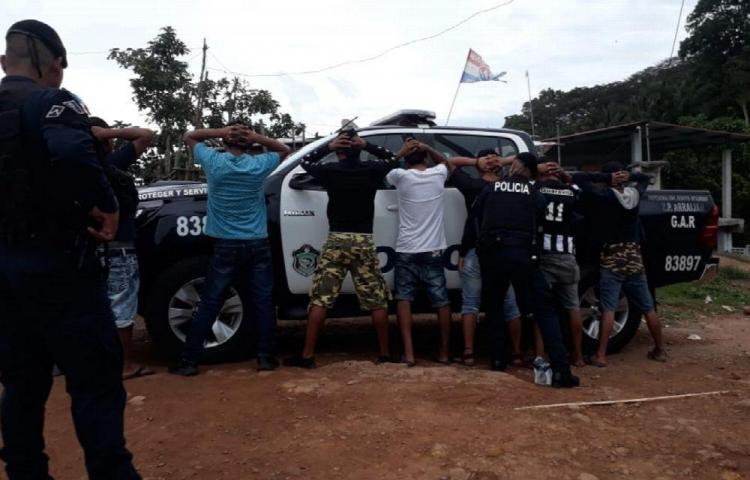 Barrieron Arraiján: Hubo varios capturados