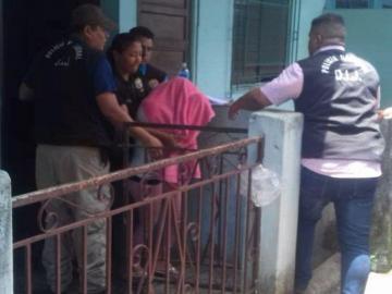 Mujer que raptó a bebé tenía papel que decía que había dado a luz