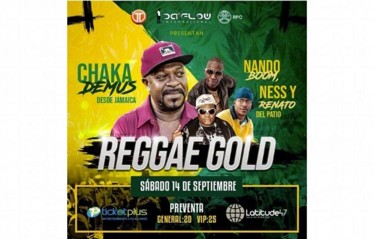 Este 14 de septiembre llega el Reggae Gold a Panamá