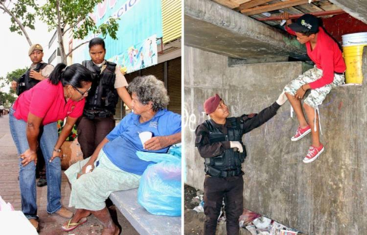 Abordan la problemática de los personas sin techo y drogodependientes en Panamá