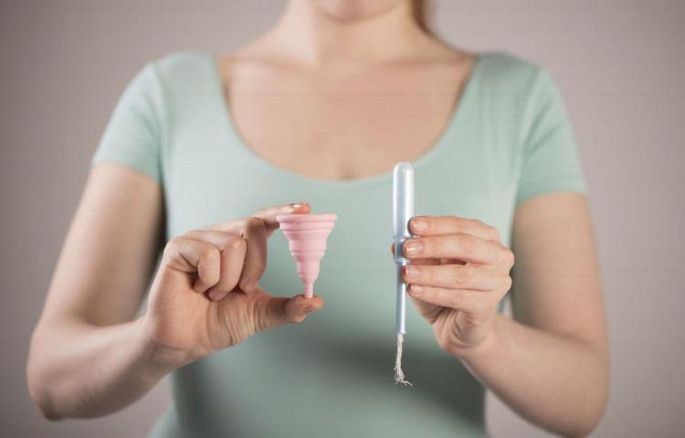 Copas menstruales o tampones
