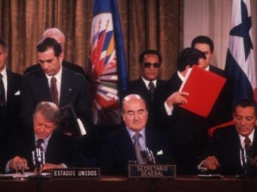 A 42 años de la firma de los tratados Torrijos Carter