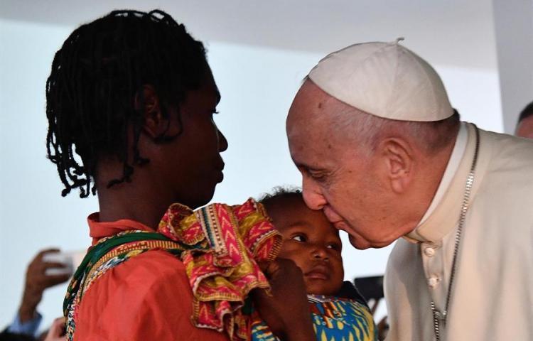 Papa, en Madagascar