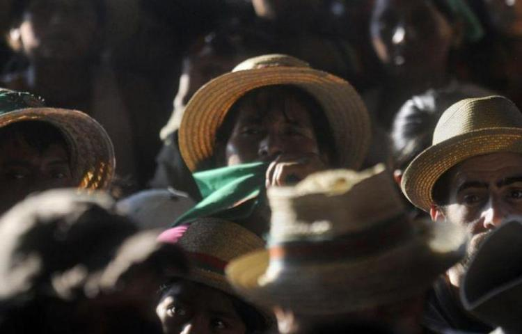 OCHA alerta confinamiento de 4,000 indígenas