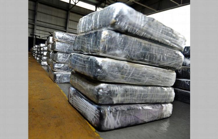 Incautan en Colón 12 mil 903 kilos de droga en lo que va del año