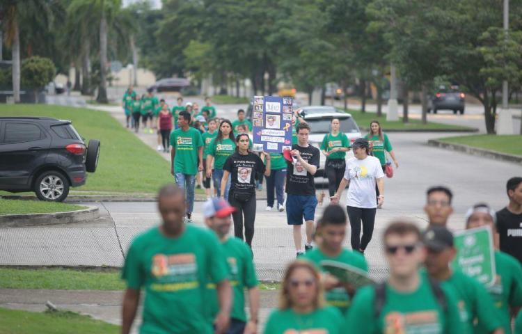 Panameños participaron en la tercera caminata para la prevención del suicidio